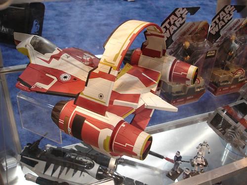 Star Wars Toy Ships : Star wars celebration iv hasbro jedi starfighter toy shi