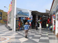 Shop for souvenirs at Mercado Indio - Things to do in Lima