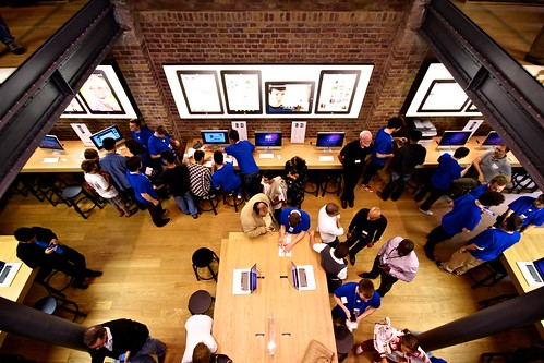 Covent Garden Apple Store Opening Day - 188/365 | by Simon Wicks