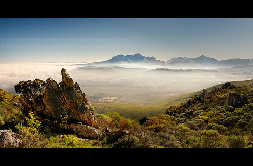 View from the top... | by Chantal Steyn