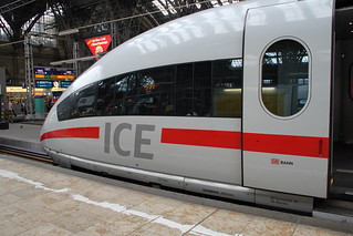 The ICE - Germany's fast train. | by JuntosWorldwide