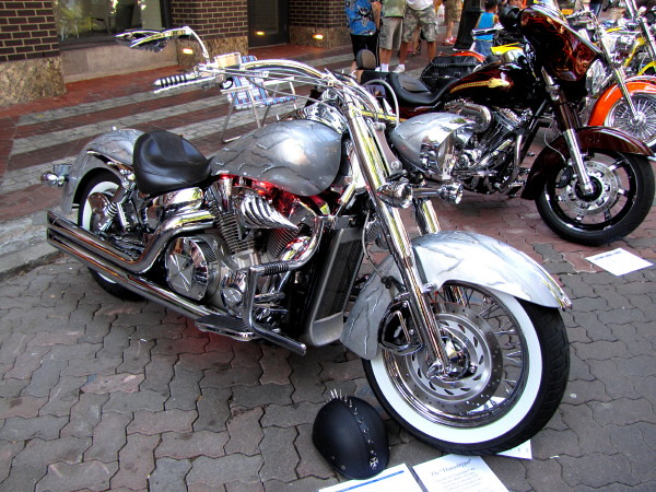 2005 honda vtx gastown motorcycle show n shine 2010 had hell angels