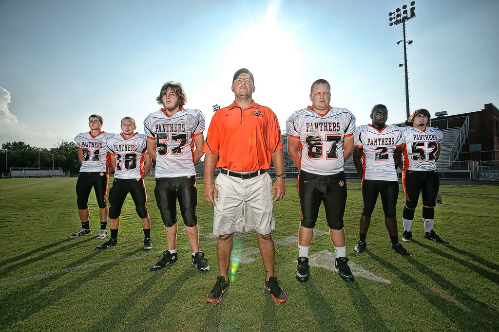 Powell High School Football Team | I took this right ...
