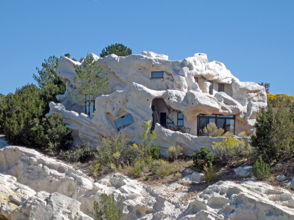 Norah Pierson S Flintstone House Near Lamy Nm Known