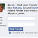 Facebook ogles my Skype connections