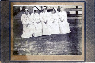 1800s - Five Nightgown Ladies - or - Five Nightgown Men (You Decide) | by clotho98