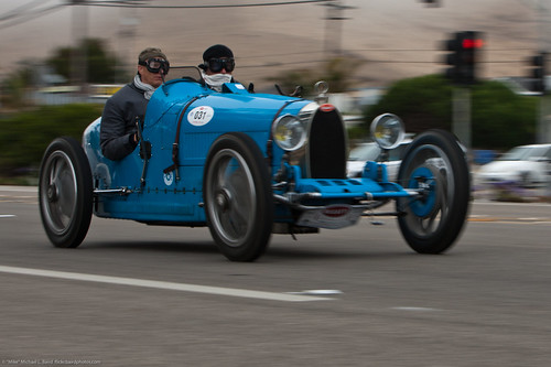 The International Bugatti Rally passes through Morro Bay, CA, 20 August 2010 | by mikebaird