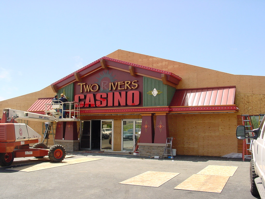 Exterior Casino Upgrade Casino Installation Two Rivers