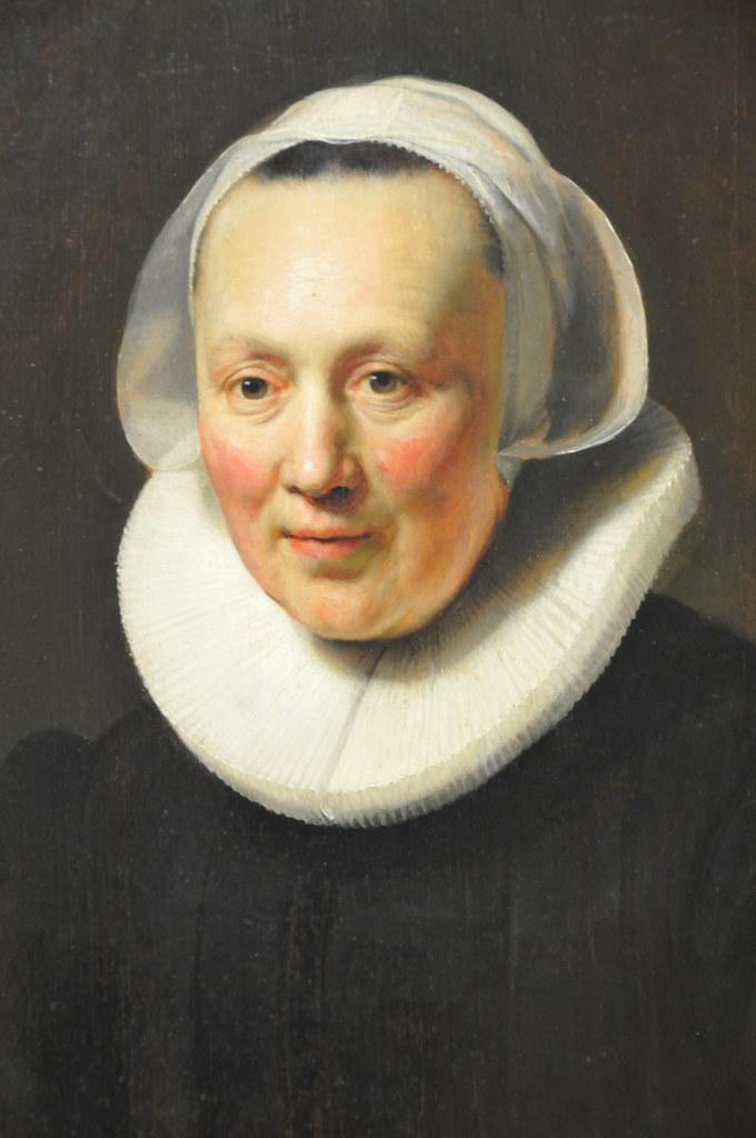 rembrandt van rijn portrait of a woman at new york metro