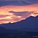 Longs Peak and Mount Meeker At Sunset