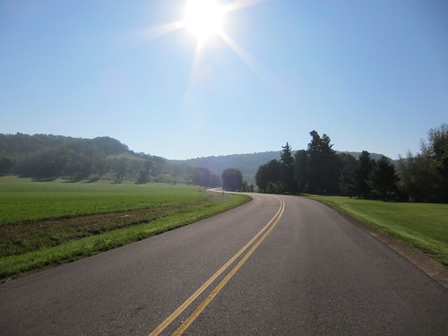 biking routes Driftless Wisconsin
