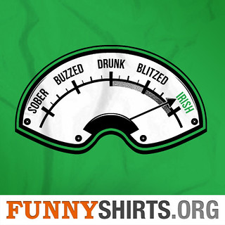 Irish Drunk Meter | by FunnyShirts.Org