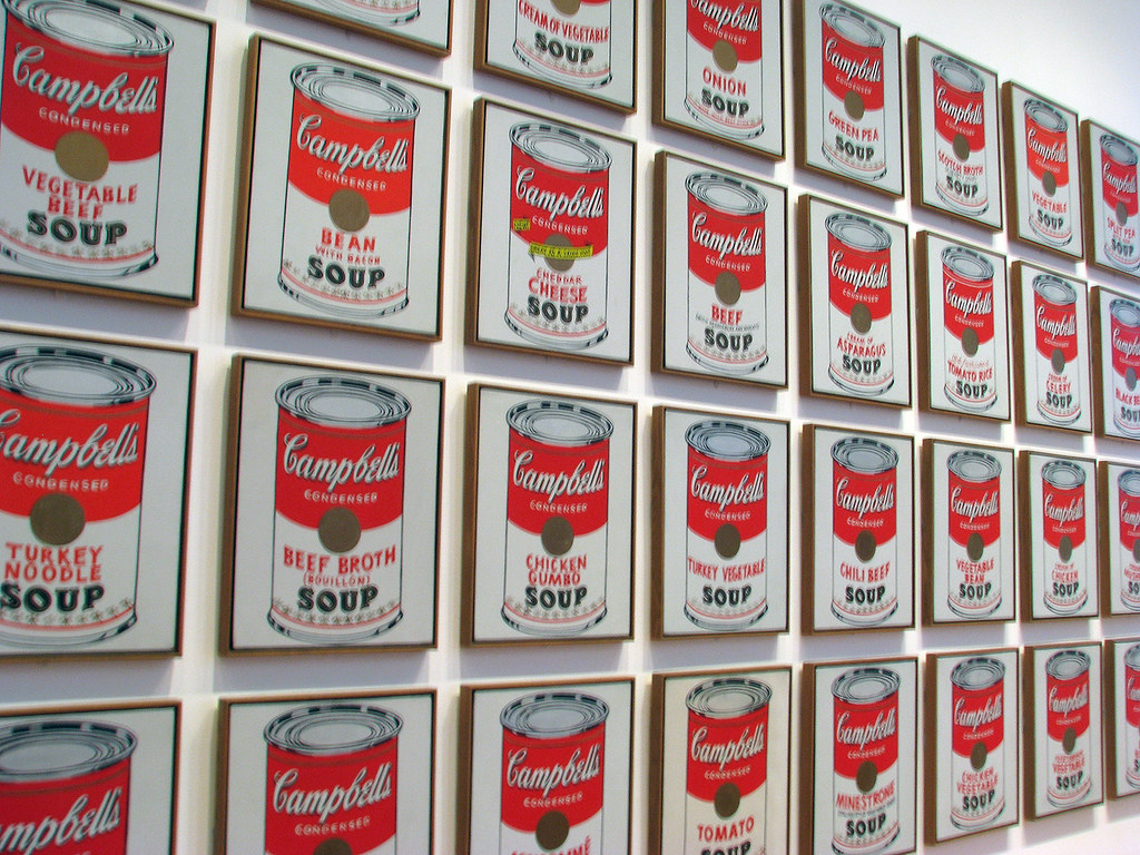 Andy warhol cans
