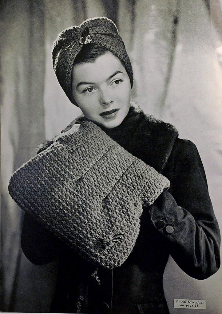 1940s Turban And Bag Crochet Pattern Wondertrading Flickr