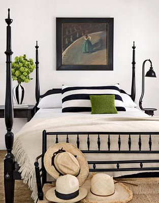 Bookswinefamily: Black And White And Green Bedroom Images