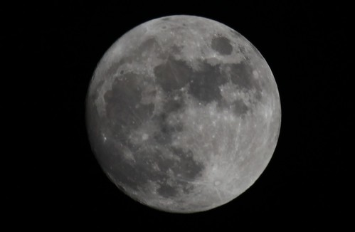 June Full Moon Closeup | by Gamma Man
