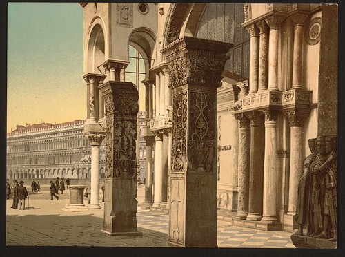 [Columns of St. Mark's Church, Venice, Italy] (LOC) | by The Library of Congress