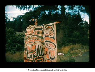 Bessie Swan at Makah Indian Reservation | by IMLS DCC