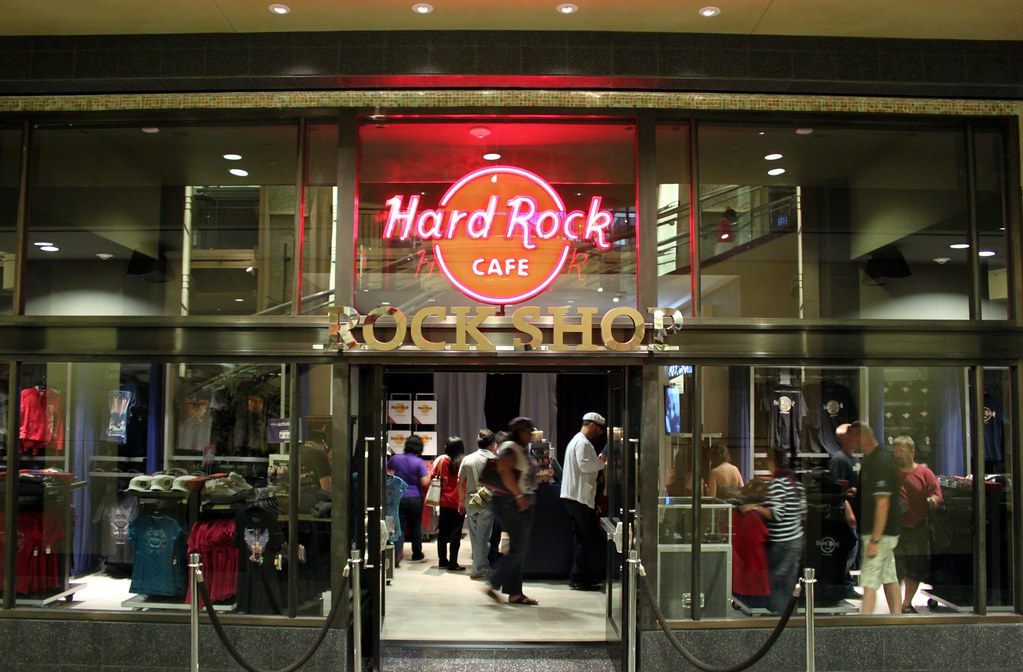 Hard Rock Cafe Hoodie Navy