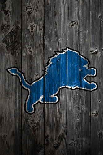 Detroit Lions New Logo Wallpaper
