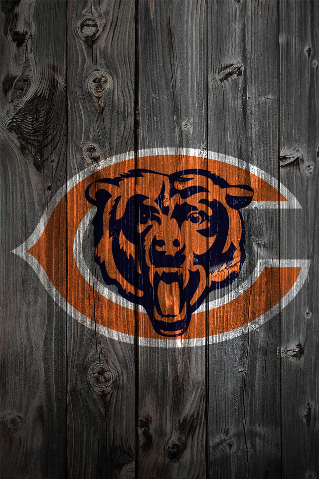 Chicago bears wood iphone 4 background chicago bears - Chicago bears phone wallpaper ...