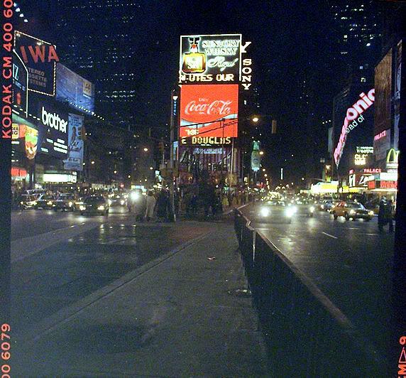 In new york in january