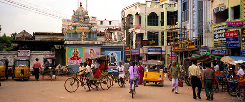South India street scene 1 | by ruffin_ready