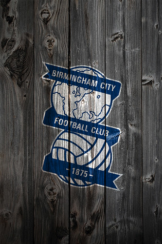 Birmingham City Fc Wood Iphone 4 Background Logo On Wood