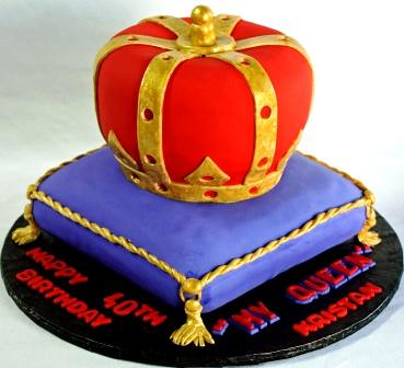 Crown Cakes For Birthday