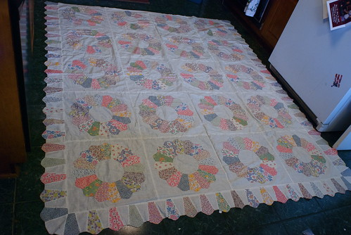 The full quilt top | by domesticat