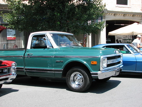 A 1969 chevy c 10 in july 2010 a very nice truck seen at for Sawyer motors saugerties ny