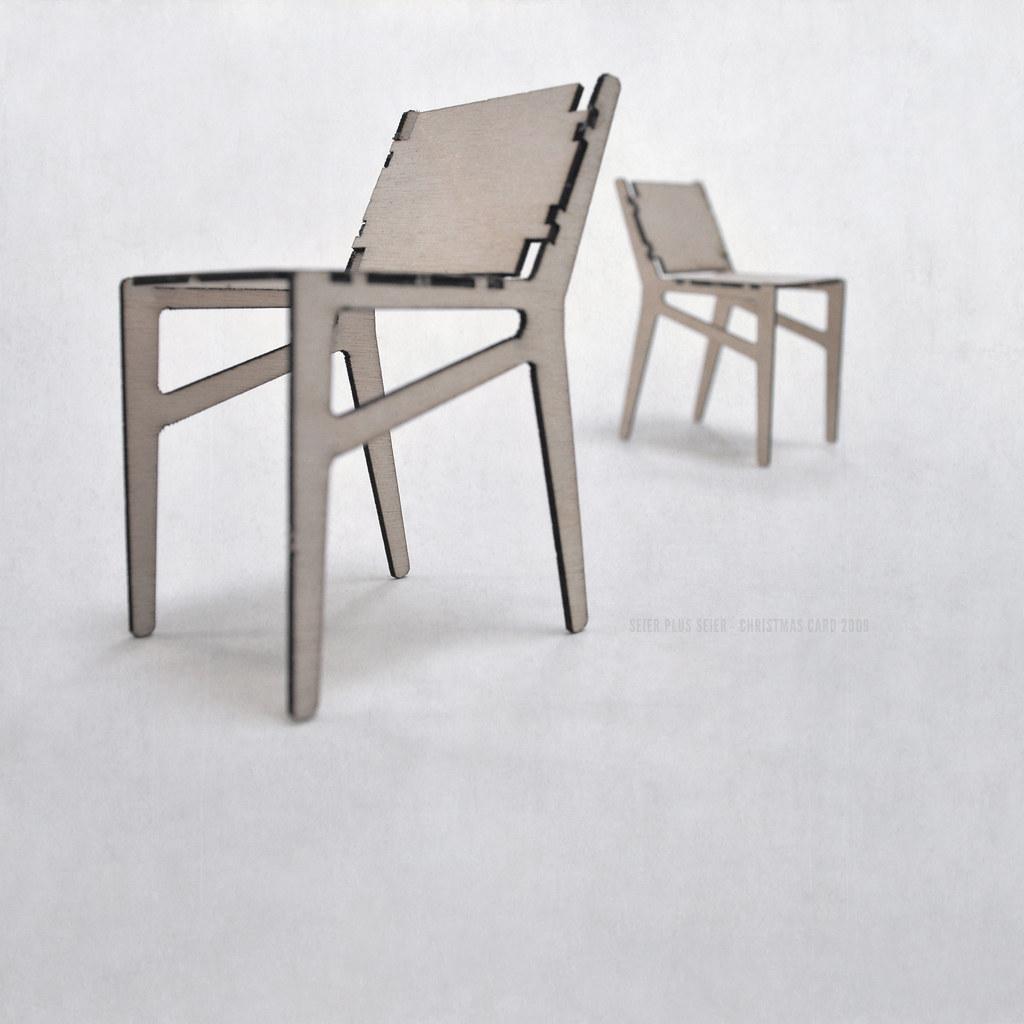 ... Seier+seier Plywood Chair Christmas Card 2009 | By Seier+seier