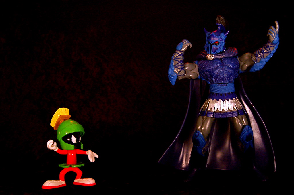 Marvin the Martian vs. Ares (196/365) | Marvin the Martian ...