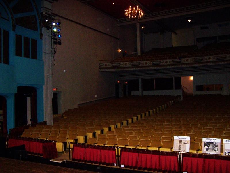 Broome forum theatre binghamton ny balcony area for Origin of balcony