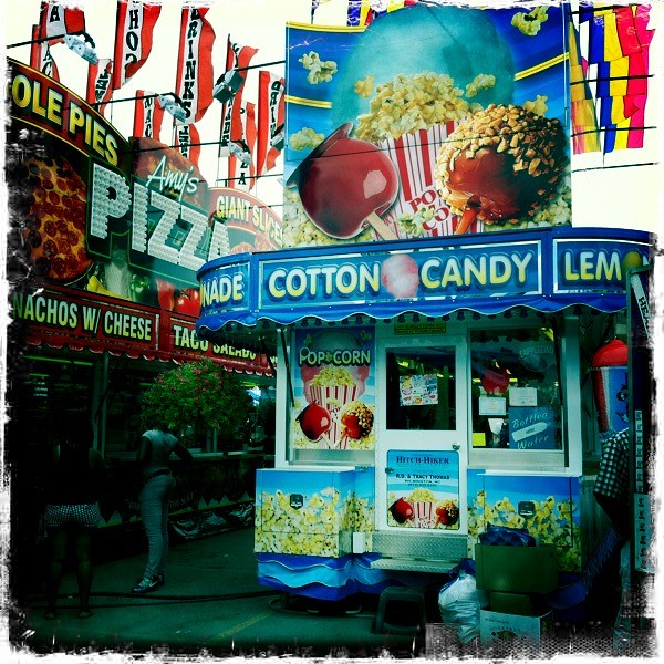 County Fair Food - Hipstamatic | Playing with Hipstamatic ...
