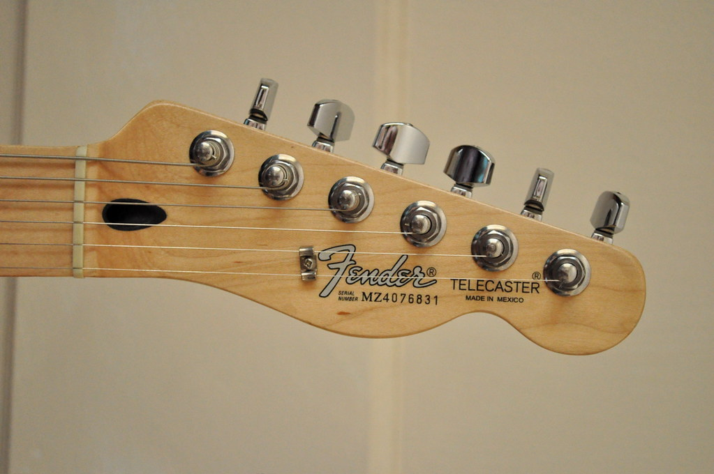 2004 fender mim telecaster headstock 2004 fender mim made flickr
