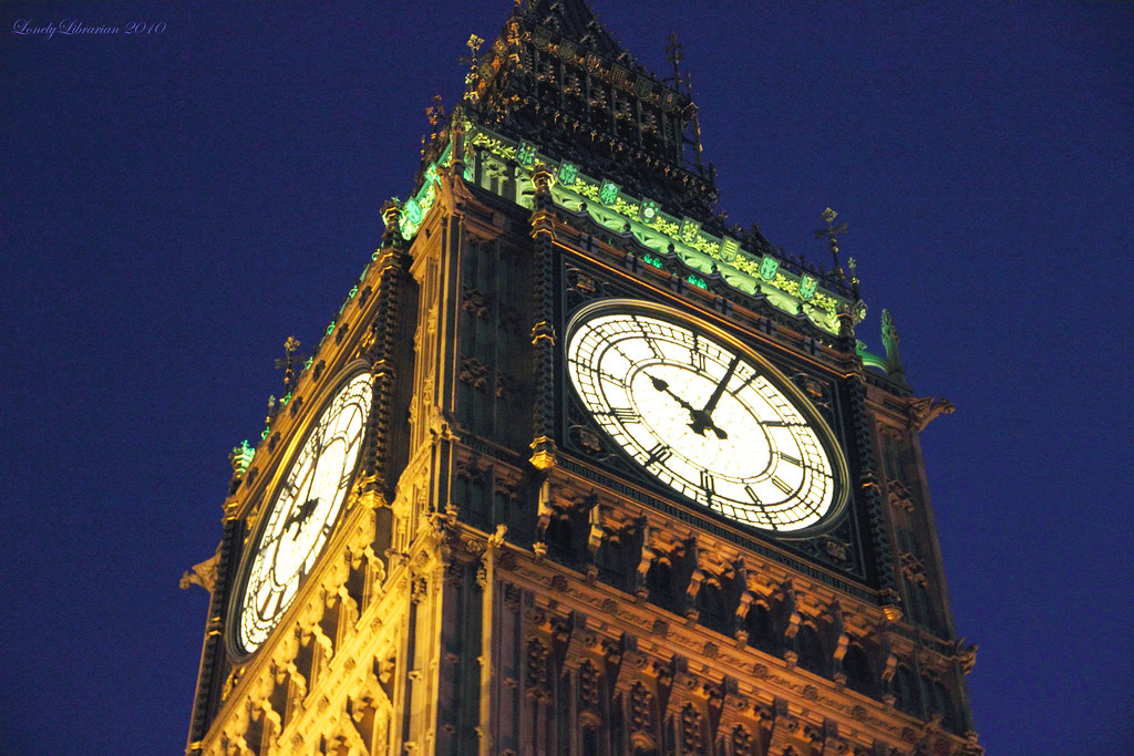 Big Ben @ night   I love Big Ben. Or rather, the clock ...