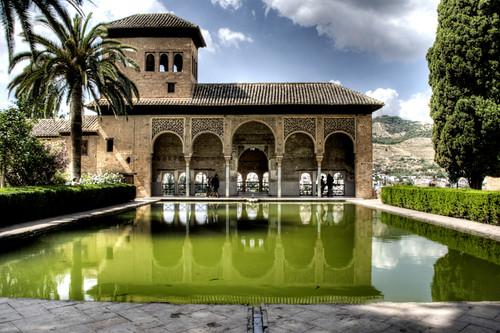 Alhambra gardens granada jardines de la alhambra flickr - Residencia los jardines granada ...