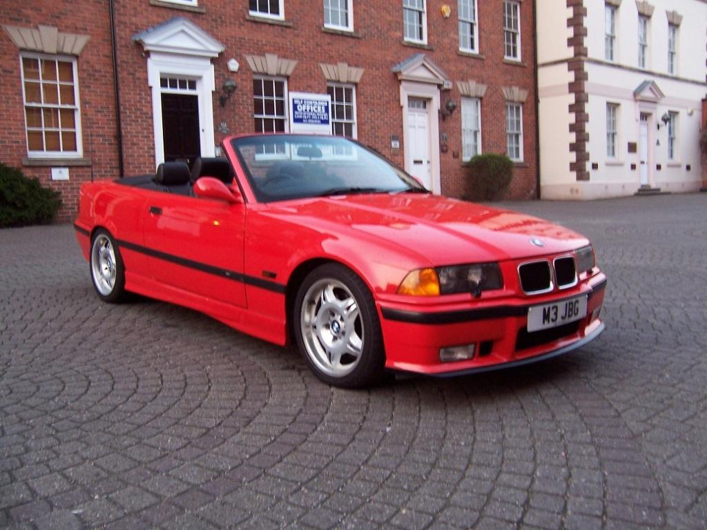 E36 M3 Evo Convertible Bright Red Bmw Car Club Gb Ireland Flickr