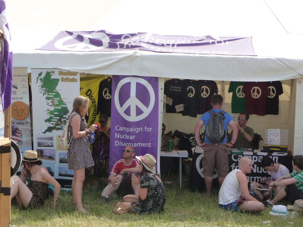 Pyramid Tent | Campaign for Nuclear Disarmament | Flickr