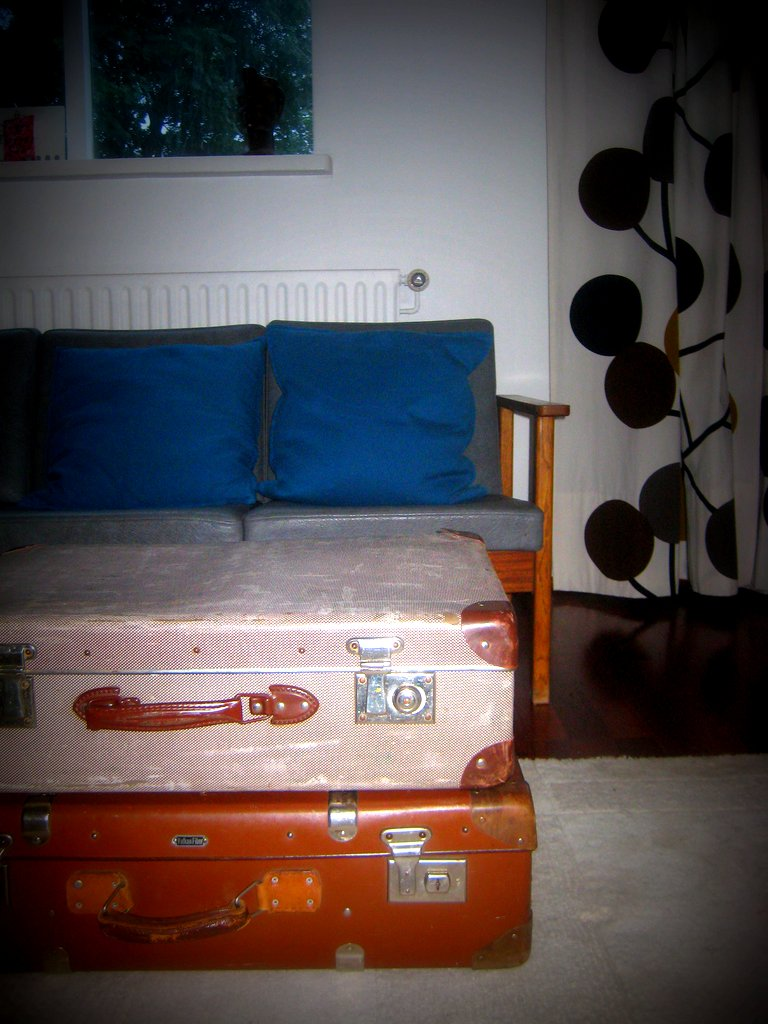 - New Sofa And Suitcase Coffee Table Harpa Heimisdóttir Flickr