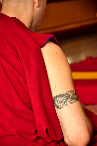 the monk who owned a tattoo | by sumita_16
