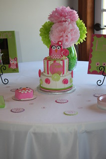 Owl 1st Birthday Party | by Jeniene@ciaobambino