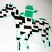 Android riding the ZXing zebra