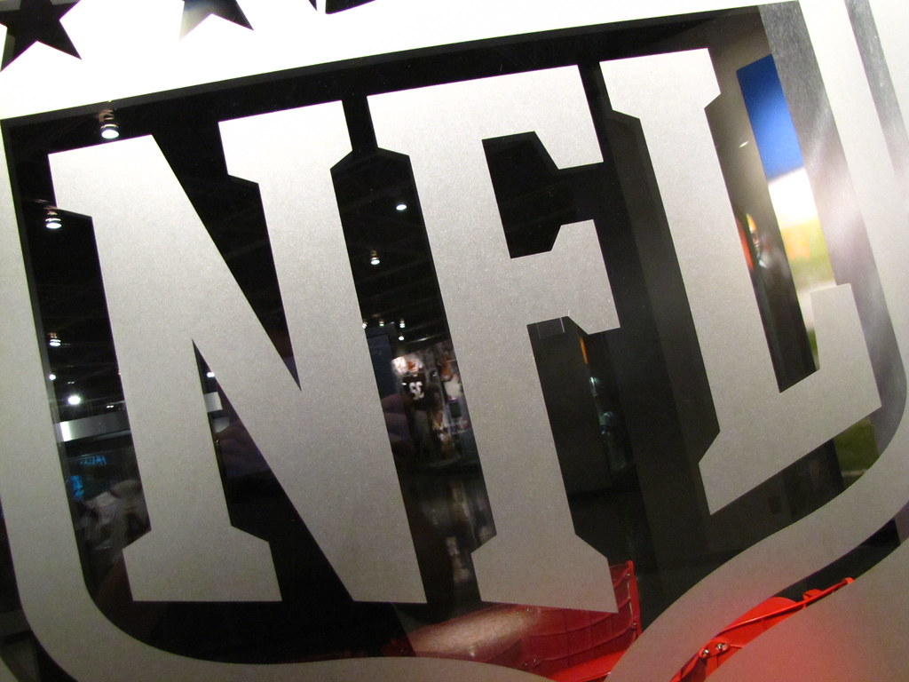 Nfl Trade Chart: NFL logo | at the Pro Football Hall of Fame | Matt McGee | Flickr,Chart