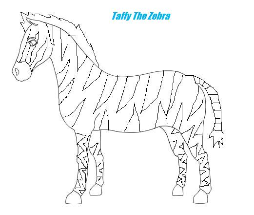taffy coloring pages - photo #1