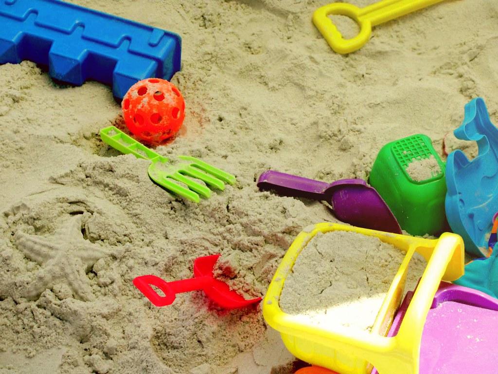 Beach Sand Toys For Kids : Beach toys danielle elder flickr
