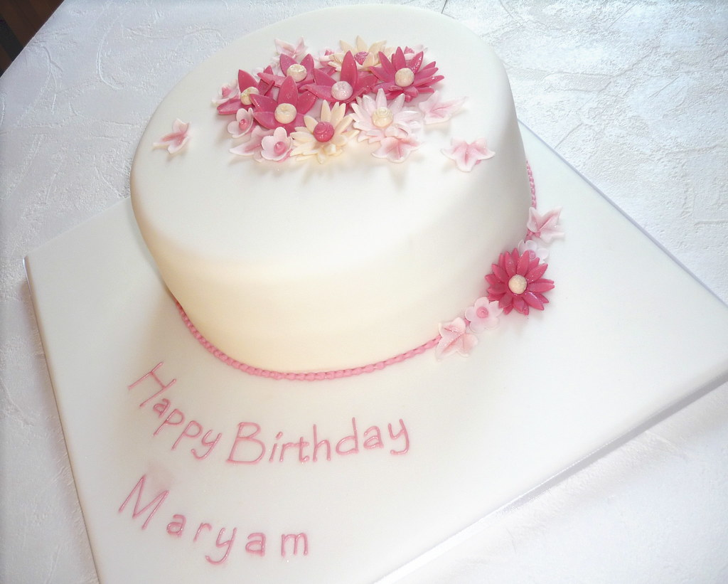 Maryam S Birthday Cake This Was Based On The Baby