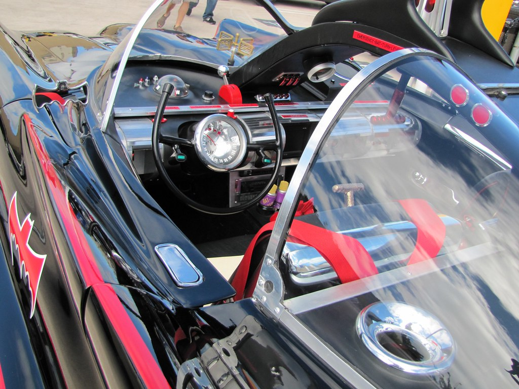 The '66 Batmobile: Interior and dash | This 1966 Batmobile r… | Flickr