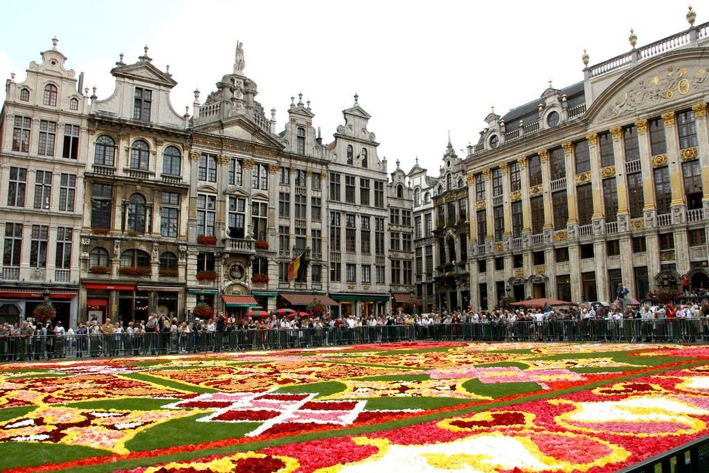 Belgique bruxelles 2010 tapis de fleurs grand place - Grand tapis new york ...